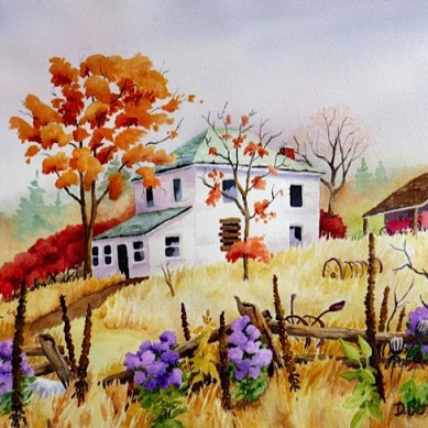 Abandoned-Homestead_watercolour-25x20