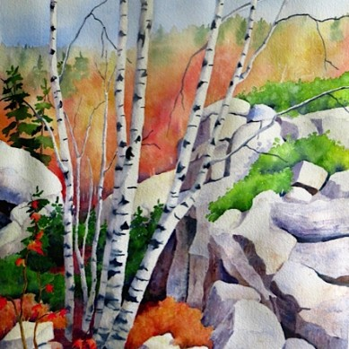 Backcountry-Birch_Watercolour-21x27